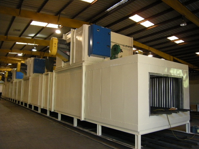 Dual Conveyor Oven/Paint Curing Oven