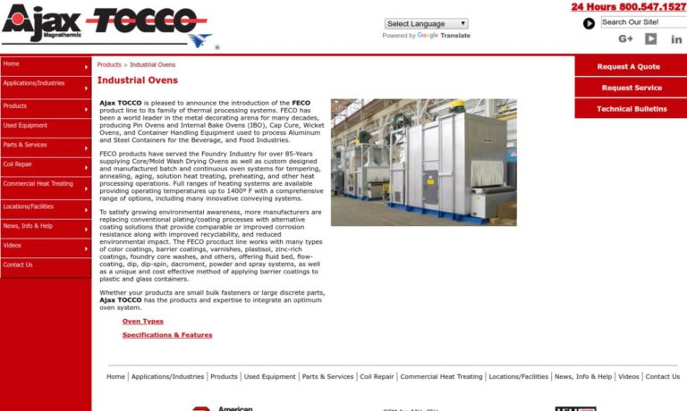 Ajax Tocco Magnethermic® Corporation
