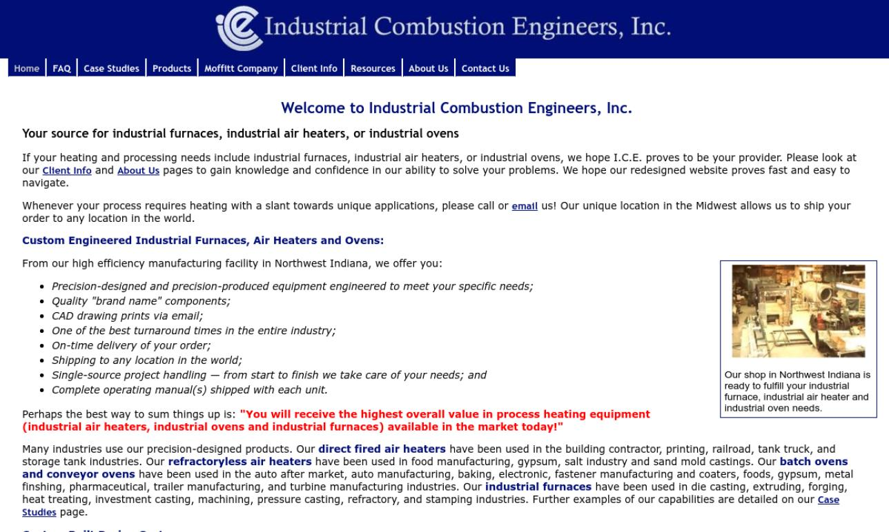 Industrial Combustion Engineers, Inc.