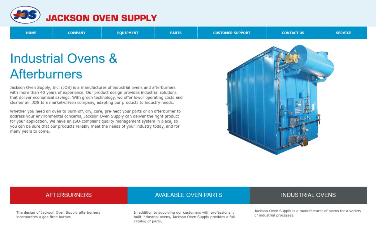 Jackson Oven Supply, Inc.