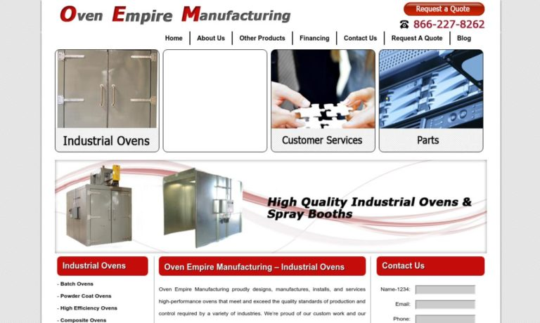 Oven Empire Manufacturing