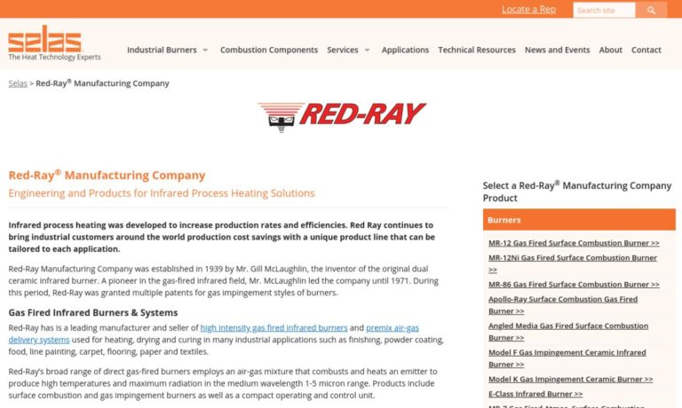 Red-Ray Manufacturing Co., Inc.